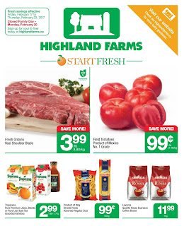 highland farms flyer stoney creek