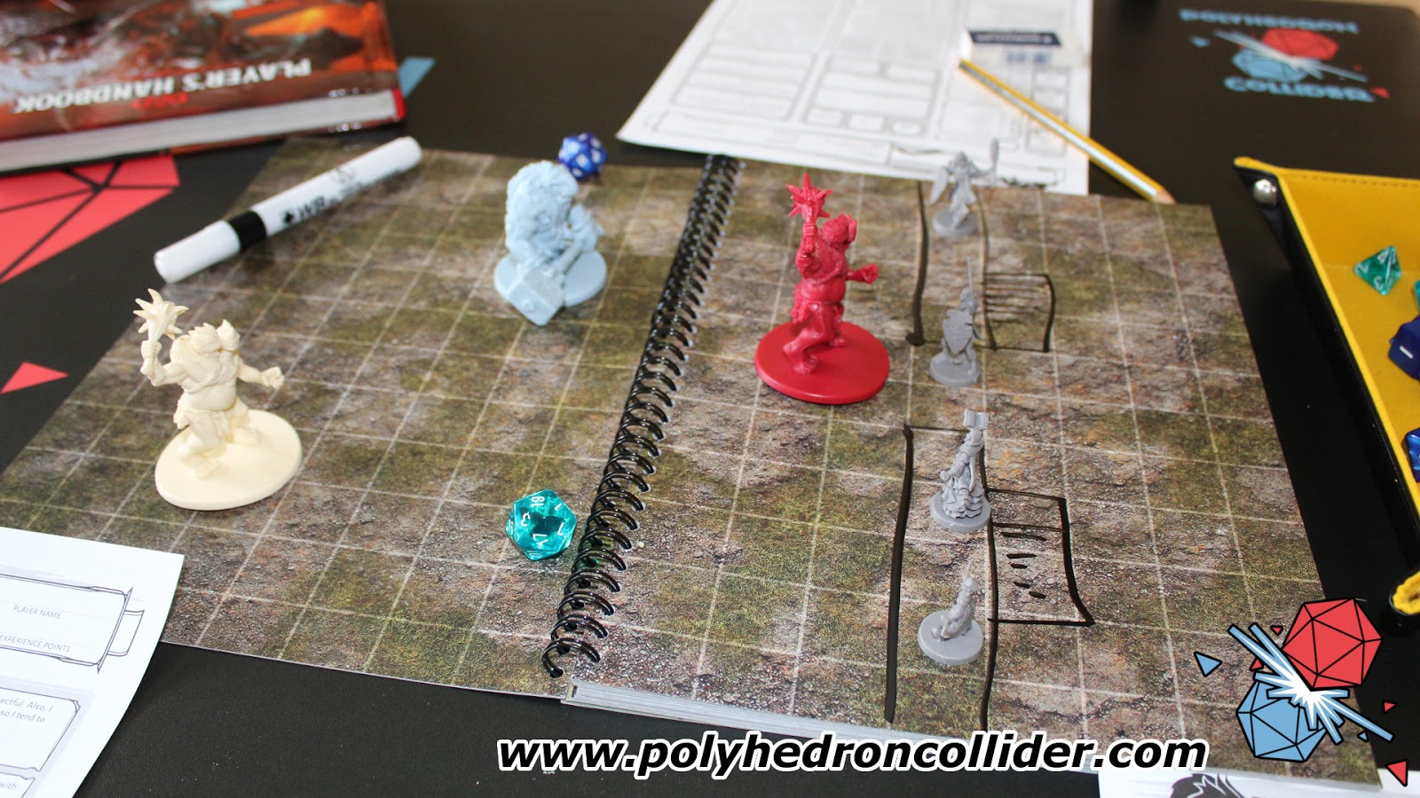 Pathfinder The Big Book of Battle dry erase Mats Review