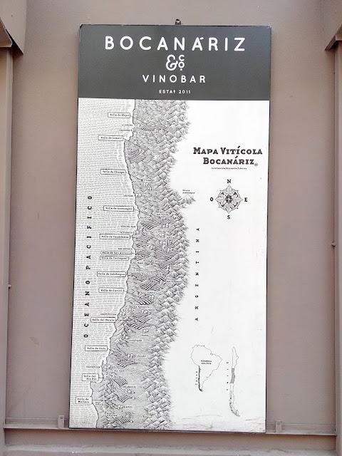 Restaurante Bocanariz en Barrio Lastarria Santiago de Chile