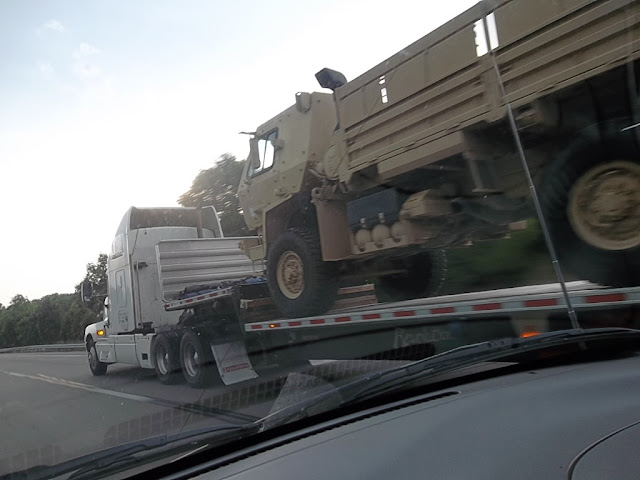 Homeland Security, military vehicles