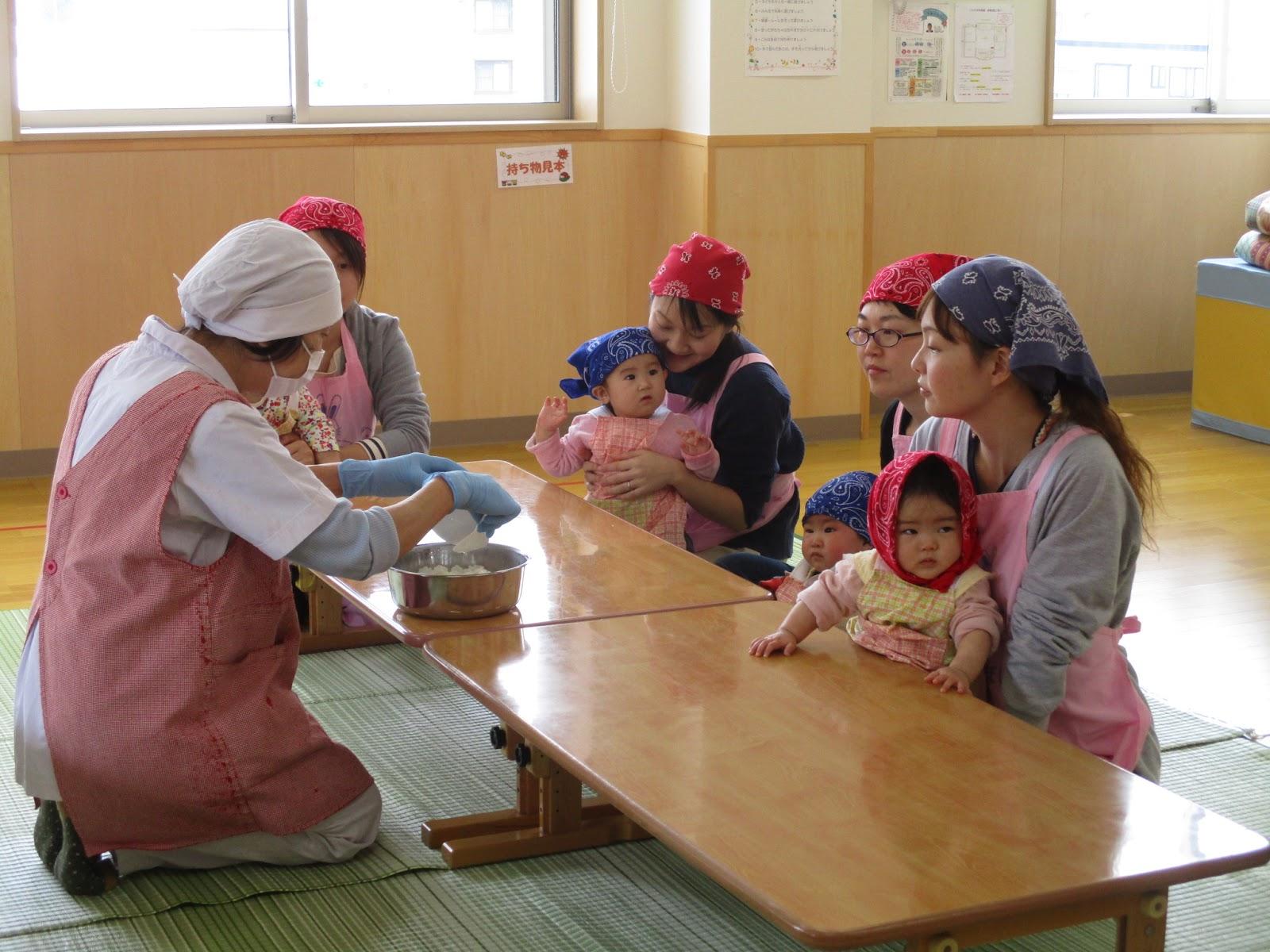 新潟県南魚沼市塩沢 わかば保育園: かわいいカップ寿司~地域子育て支援