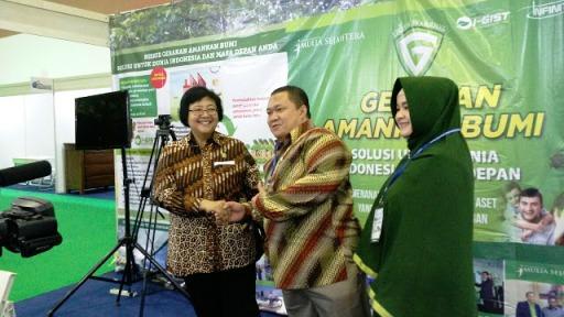 dukungan I-GIST dari Menteri Lingkungan Hidup