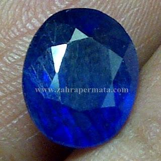 Batu Permata Royal Blue Safir - ZP 712