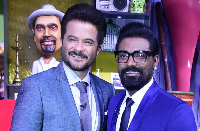 Anil Kapoor with Remo D'Souza