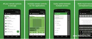 Aplikasi Remote Komputer PC dari jarak jauh dengan Android Terbaik Unified Remote