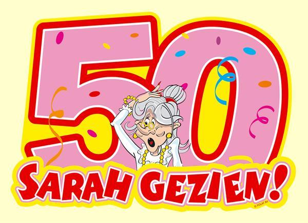 Leuke Liedjes Sarah 50 Jaar