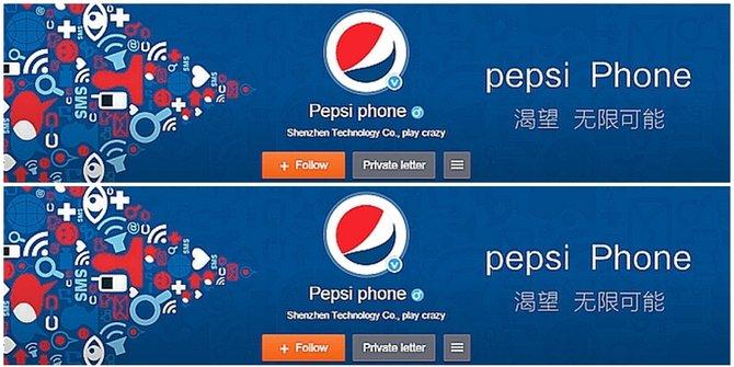 Harga dan Spesifikasi Smartphone Pepsi P1