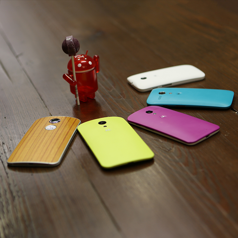It's Official: Android 5.0 Lollipop Coming to Moto X, Moto G, Moto E and More
