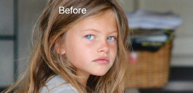 At Age 10 She Was Named 'The Most Beautiful Girl In The World'. Here's What She Looks Like Now