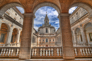 Sant'Ivo alla Sapienza, quando il genio di Borromini conquistò l'infinito