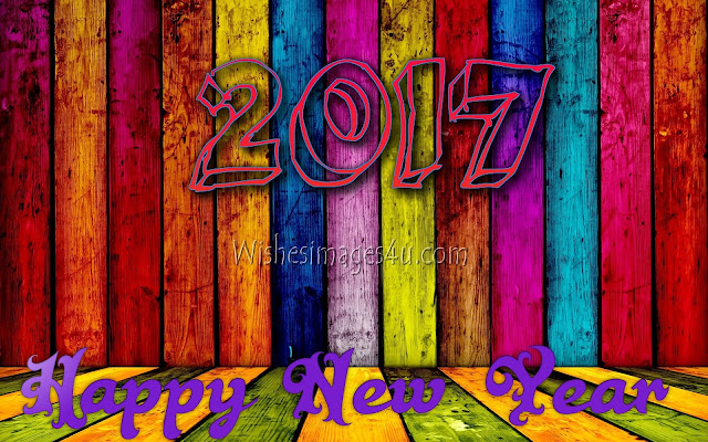 New Year 2017 3D Background Wallpapers Download Free