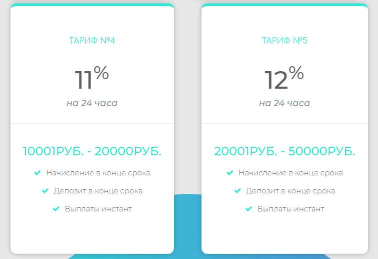 Инвестиционный план Pro100babki 2