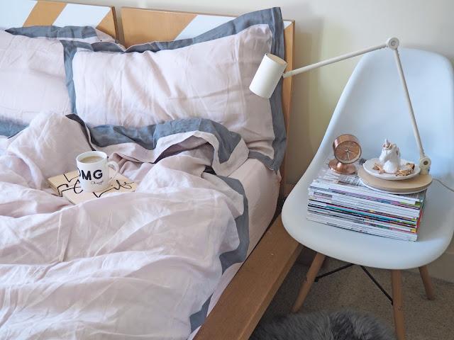 pastel pink linen bed sheets sheridan australia