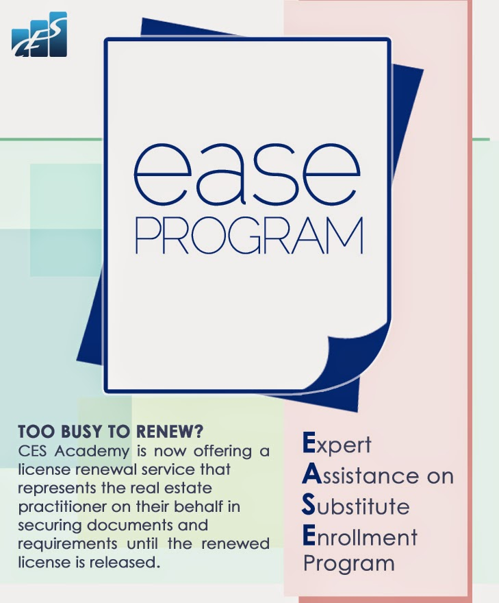 Too Busy To Renew Your PRC license?  Try Our EASE Program!