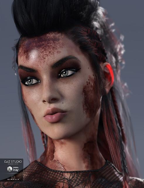 Ultimate Blood 'n Dirt for Genesis 3 Female
