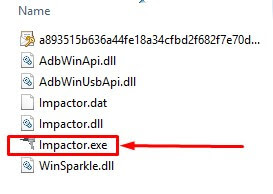 Click and Extract Impactor