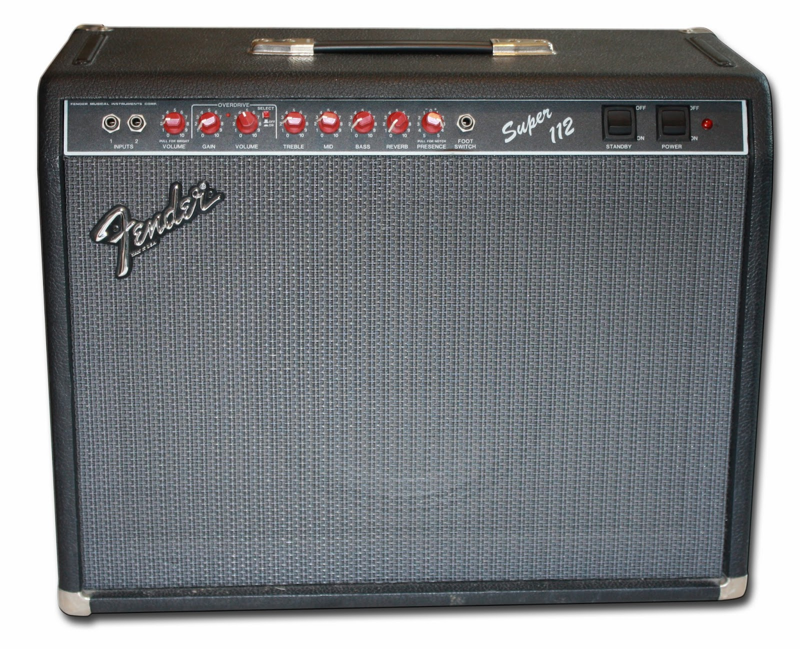 The Unique Guitar Blog Fenders Forgotten Amps 25 Watt Power Amplifier