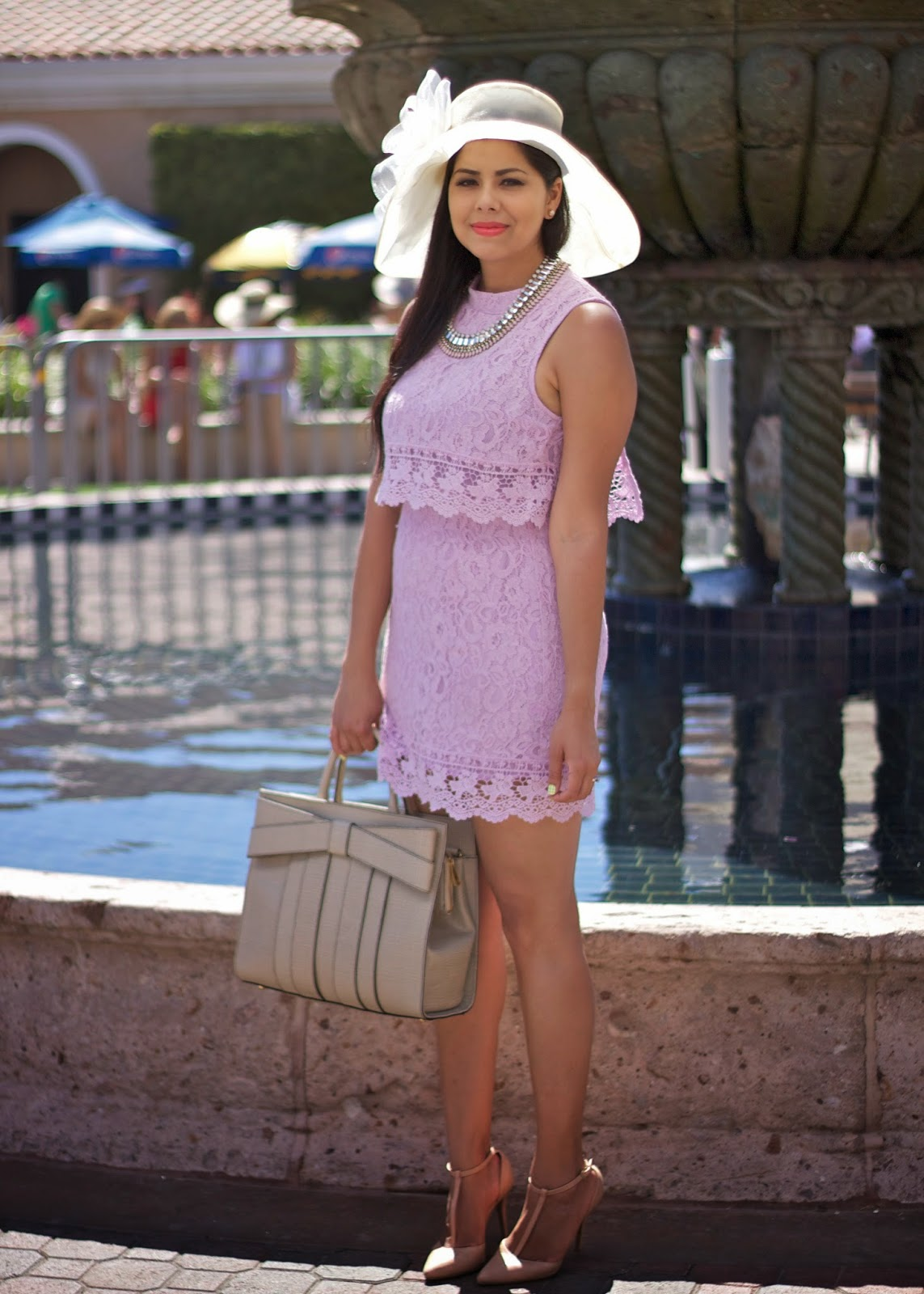 Del Mar Opening Day Fashion, San Diego del mar opening day fashion, kentucky derby fashion, big hat fashion