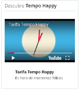 video de la tarifa happy en la web de Endesa