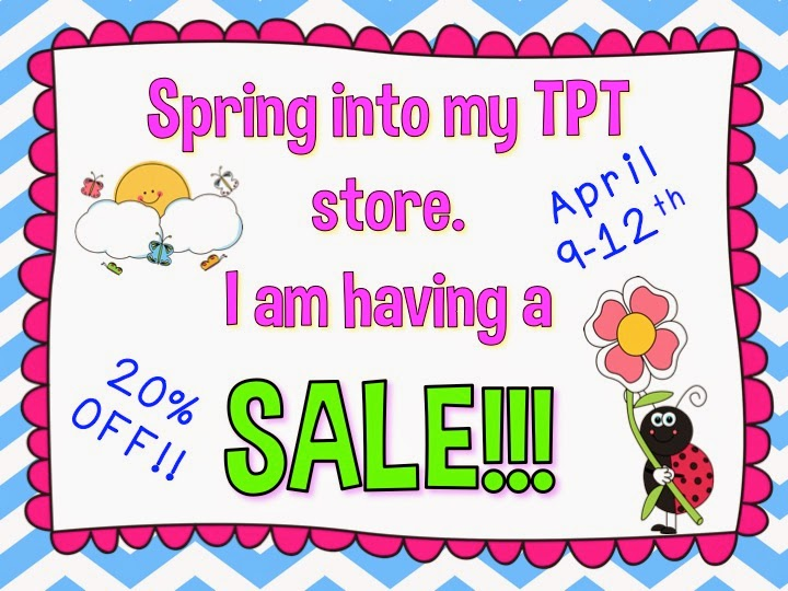 Time for a SALE!!