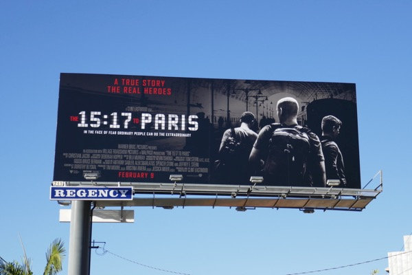 1517 to Paris movie billboard
