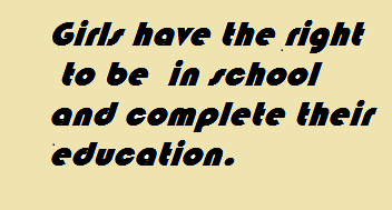 Girls have equal right of education