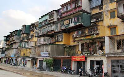 chung cư cũ nát được ưa chuộng đầu tư