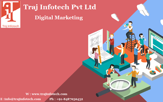 Digital Marketing Services - Traj Infotech Pvt Ltd