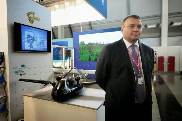 Russian Chirok Drone preparando para vôos de teste