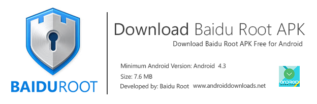 Baidu Root Banner with App Details 2018 Free Download