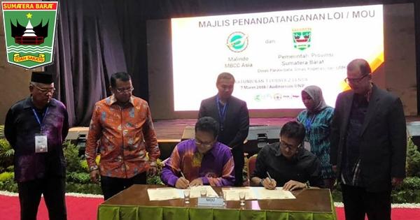 Gubernur Irwan Teken MoU dengan MBCC