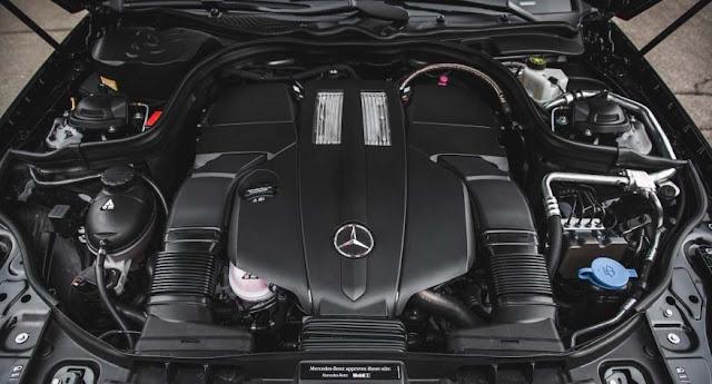 Động cơ Mercedes CLS 400 2017 vận hành mạnh mẽ và vượt trội