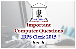 Race IBPS Clerk 2015- Important Computer Questions Set-6