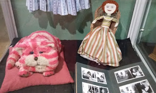 "Characters from ""Bagpuss""."
