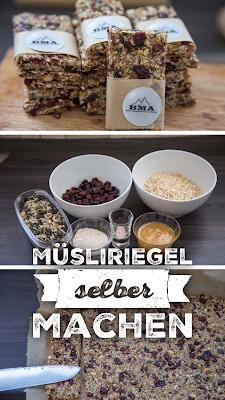 Müsliriegel selber machen | Energieriegel Rezept | BMA Outdoor Kitchen | Energieriegel Rezept ohne Zucker selbst gemacht