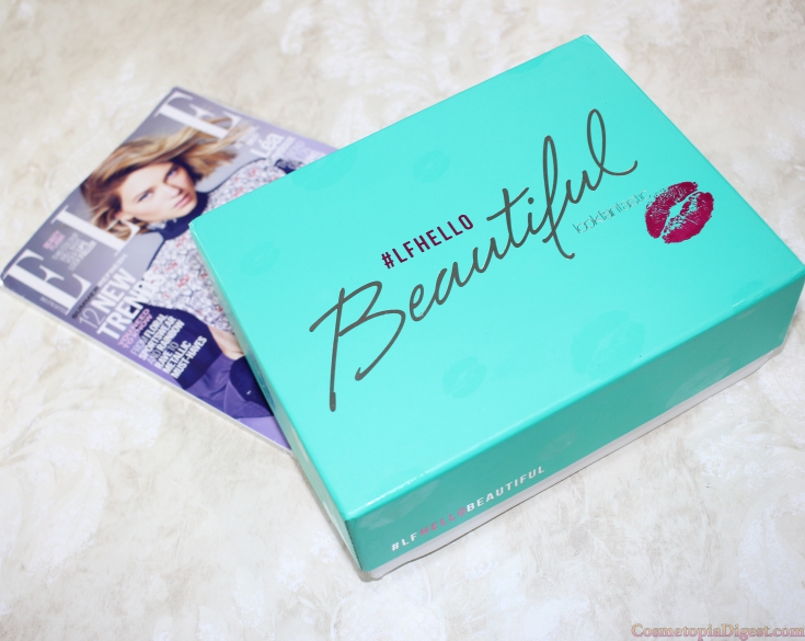 Here are the contents of the May 2016 LookFantastic Beauty Box.