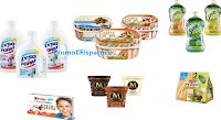 Logo TiFrutta: nuovi coupon Carte D'Or, Magnum, Svelto, Lysoform, Kinder e molti altri