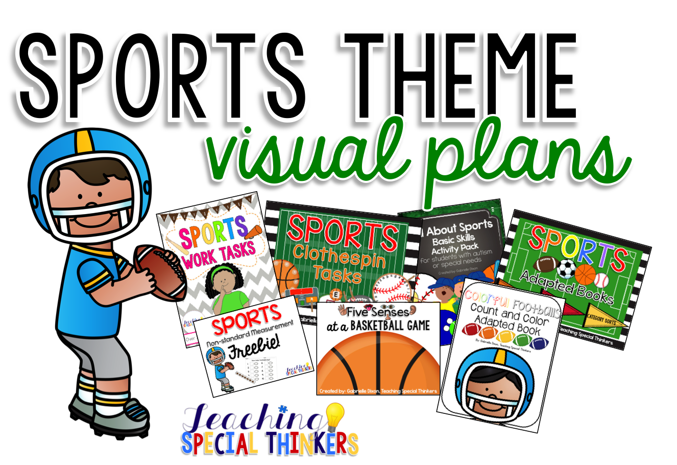 Sports Themed Activities {Rafflecopter Giveaway!}