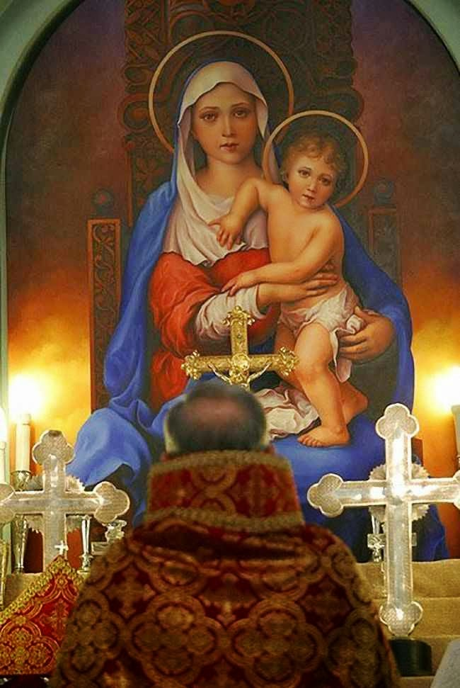 Missa de Natal no Irã