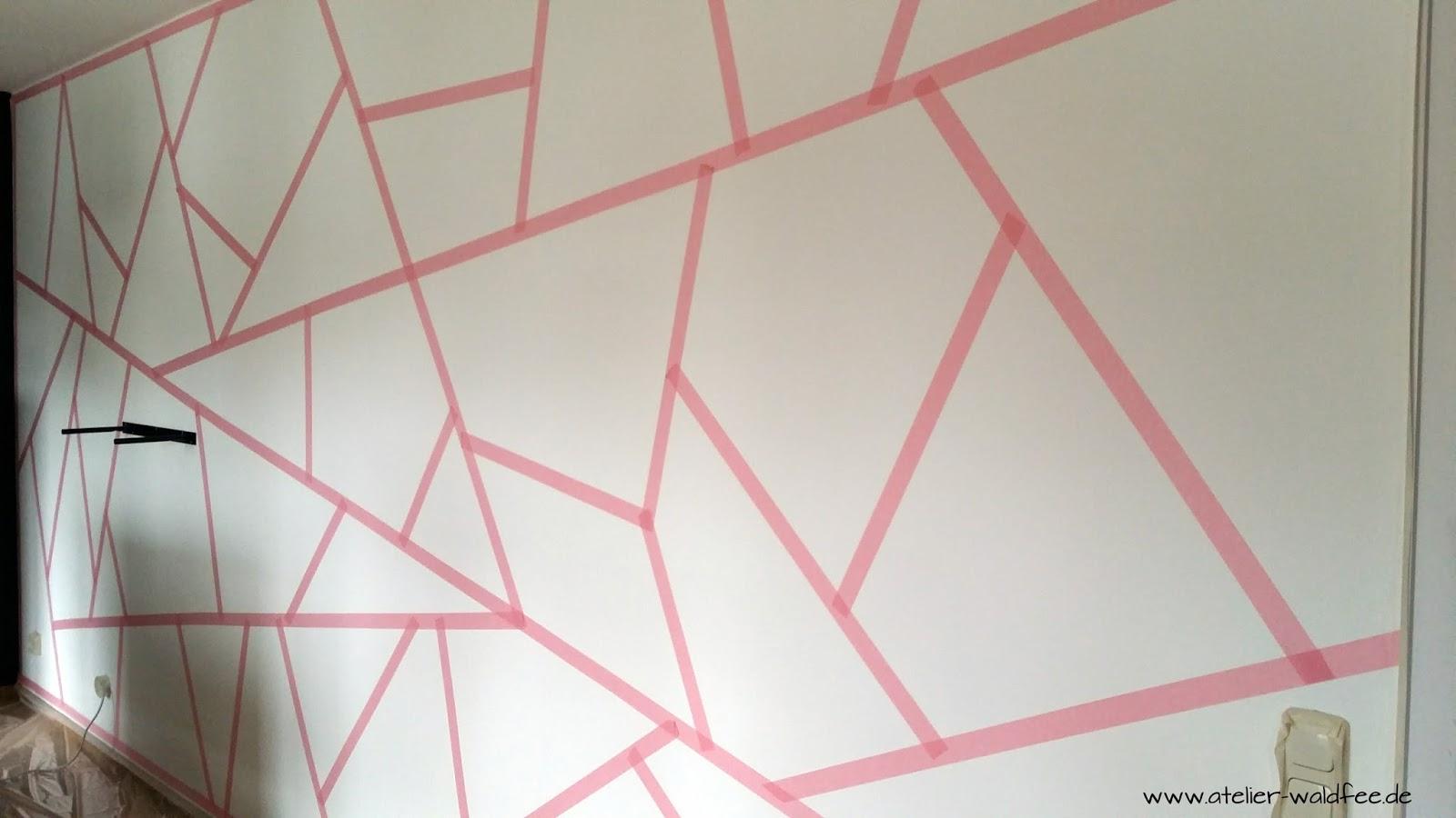 atelier waldfee: wohnzimmer im neuen geometric-look