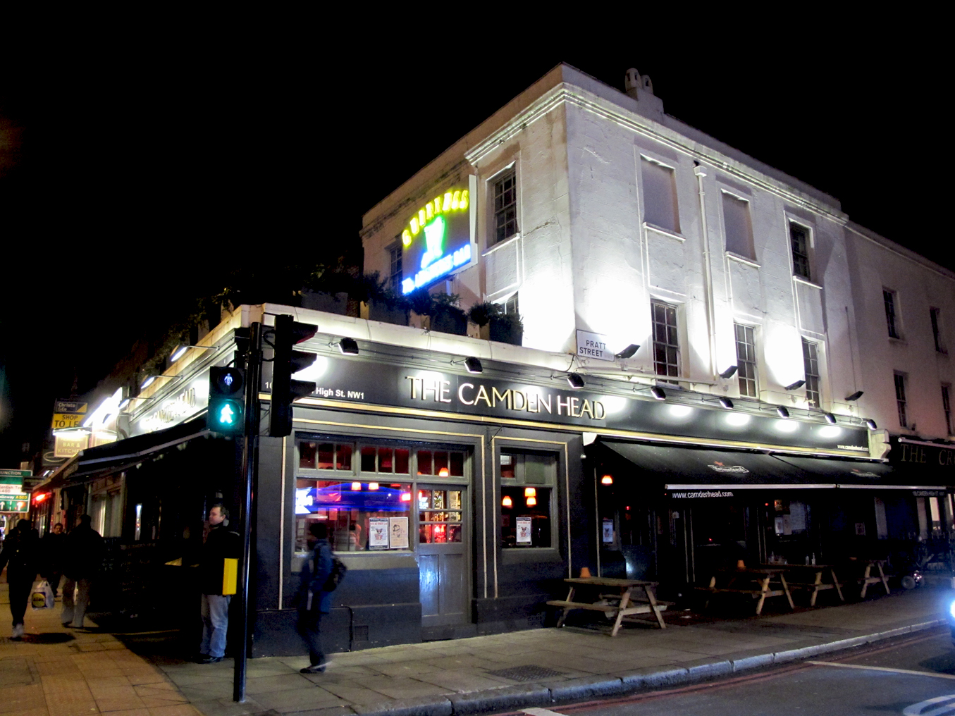 Rich Harrill's London and Wales: Camden Nights