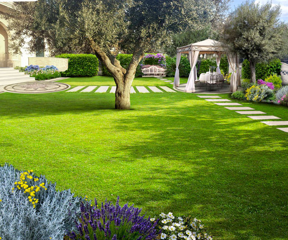 Organizzare un giardino for Arredo ville e giardini