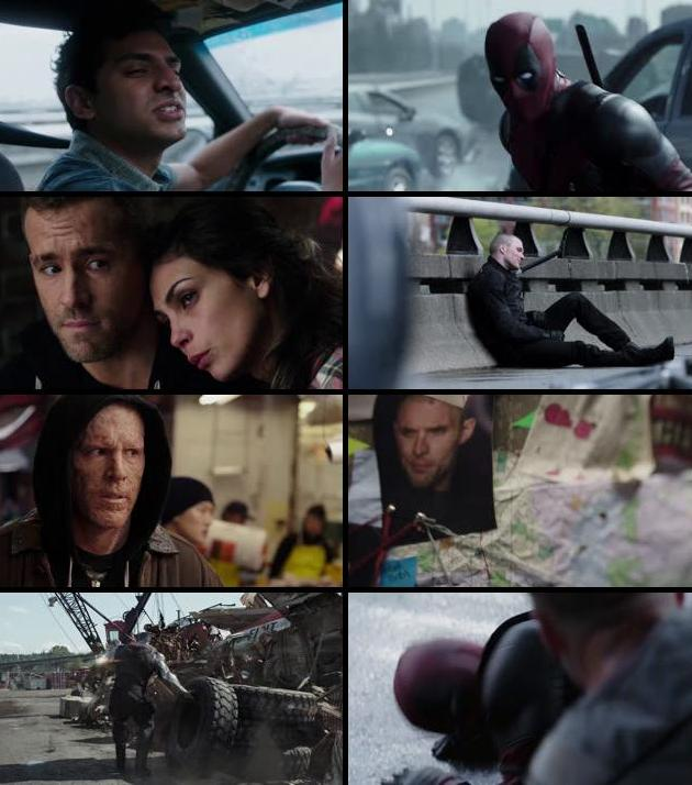Deadpool 2016 Dual Audio ORG Hindi 720p BluRay