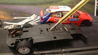 Arreglo Citroën Xsara T4/WRC Sainz Scalextric iniciación