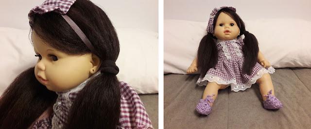 Boneca Cheirinho restaurada