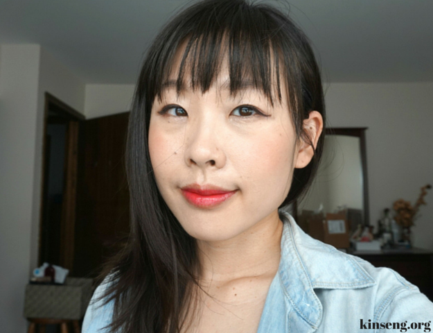 aritaum sugarball velvet blusher and aritaum water sliding tint review cherry blossom korean beauty look