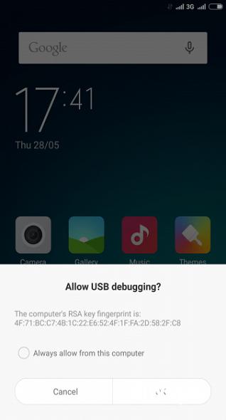 Cara Root Xiaomi Mi 4i 1