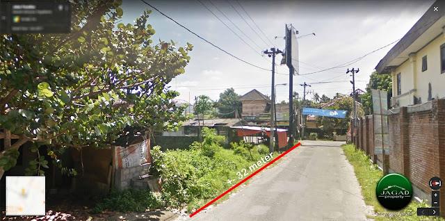 Tanah 2 Muka Tepi jalan Palagan dekat Hotek Hyatt