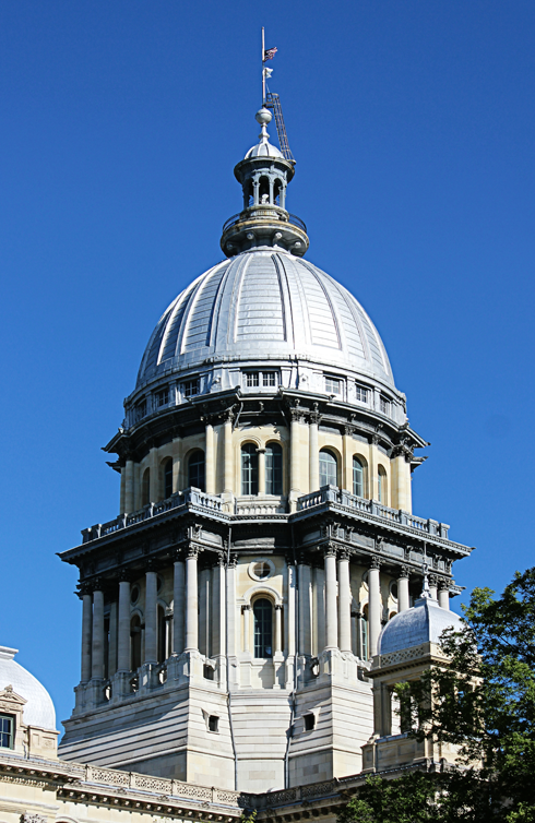 Illinois Capitol Building Springfield