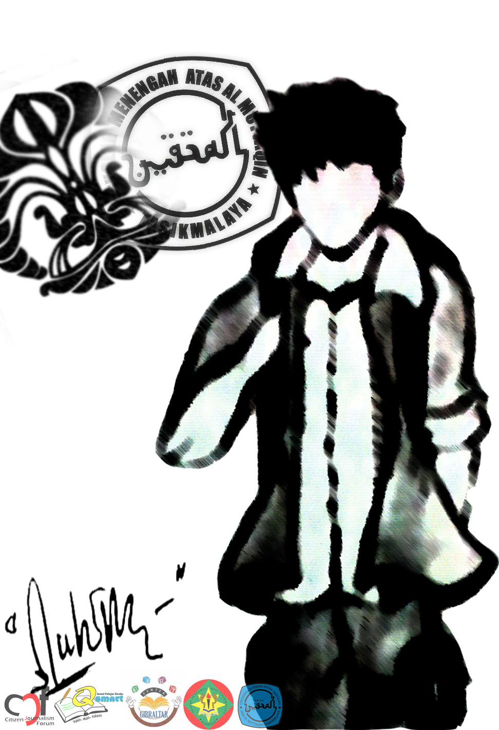 Gambar Wallpaper Kartun Islami  Gudang Wallpaper
